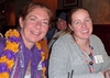 Ann Feldman Perille '76 and Knox Professor Katie Adelsberger