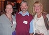 Knox Professor Katie Adelsberger and Knox alumni, Jeff Noblett '75 and Kelly Norton Warner '82.
