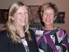 Sue Schlaufman Deans '70 with Knox guest, Carol Brown '99, Director of Alumni Programs.