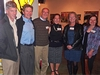 Zack Kretchmer '93, Steve Yemm '74, Tom Perille '76, Ann Feldman Perille '76, Shannon Yemm, and Georgine Kryda '83 represent three of the six decades of Knox alumni and parents who attended this Colorado Knox Club event.