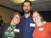 Megan Gamble '06, Peter McAvoy '05, and Rebecca Meyerson '06