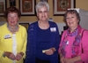 Mary Ellen McNamara Mcardie '52, Frances Rogers Ippensen '60, and Mary Lu Hudson Aft '60