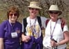 Nancy Bakos Hunter '73, Ann Feldman Perille '76, and Linda Pohle '69