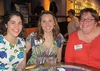 Ellen Ramsey '12, Newell Bowman, and Megain Claire-Femrite '04