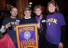 Colorado Knox Club: Cameron Burke '09, Linda Pohle, '69, Sharon Schillereff '82, and Anita Traher Gilbertson '69