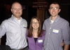 Colorado Knox Club: Recent graduates, Jimmy Thornton '11, Molly Snook '10, and Joe Kozlowicz '11
