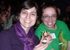"Rebeccah Bechtold '05 won the ""Striking Level of Enthusiasm"" Trophy (with Katie Harty '05)."