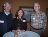 Ken Tranbarger '61, Mary Tranbarger, and Fred Kaiser '62