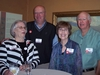 "Elen Phillips Litney '68, Dale Litney '66, Margaret ""Margee"" Terry Smith '67, Jerry Smith"