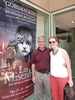 Elizabeth Smith '01 and her father Ken Smith await our matinee performance on Sunday, May 26, 2013 at the Buell Theatre.