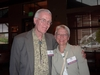 Jim Horner '62 and Pam Horner attend the post-performance dinner at Racines Restaurant.