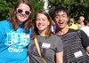 Alanna Toomey '16, Nicolette Laird '16, and Samuel Chen '16